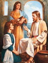 Mary Martha Jesus